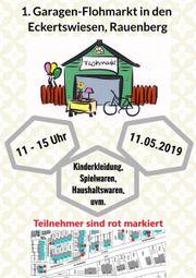 Garagen Flohmarkt 11 05 2019