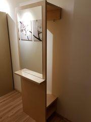 IKEA STARK Garderobe mit Spiegel