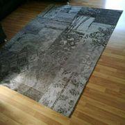 Teppich 167X225cm Braun Beige