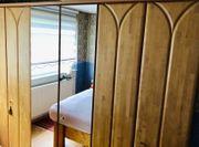 Schrank 6-türiger Kleiderschrank mit Spiegel