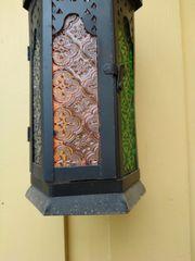 Orientalische Lampe für Kerzenbeleuchtung