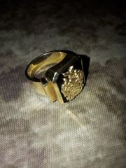 Goldring Siegelring Wappenring Gold 585