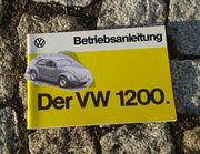 Betriebsanleitung VW 1200 1200 L