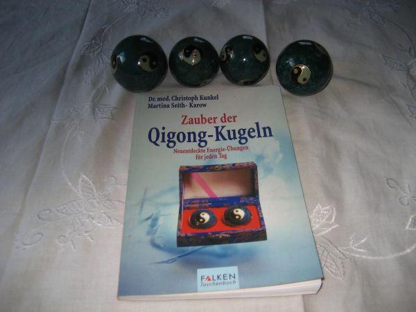 4 Qi Gong Kugeln Yin