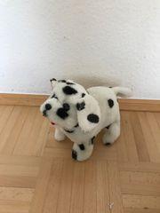 Süßer Bellender Hund der Saltos