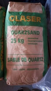 12 x 25kg Quarzsand