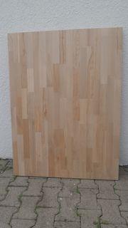 Massivholzplatte Buche Arbeitsplatte Tischplatte 120x90x4