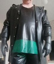 Neue Latex Jacke Latex Unterhemd