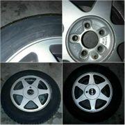 4 Reifen mit Alufelge 205