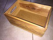 kleine Holzkiste 30x20cm Deko basteln