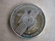 Medaille GERMANISCHES MUSEUM Polierte Platte