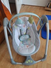 Ingenuity Babyschaukel kaum genutzt