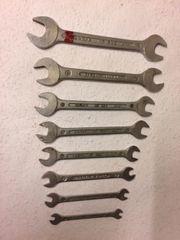 Sortiment Doppel-Gabel-Schlüssel aus CV 7-teilig