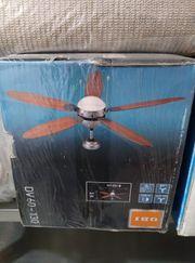 Beleuchtung mit Ventilator