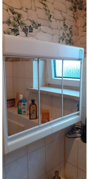 3türiger Bad Spiegelschrank Beleuchtung