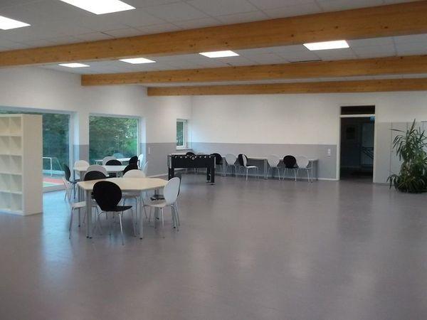 Raum für Fitness- Sportkurse