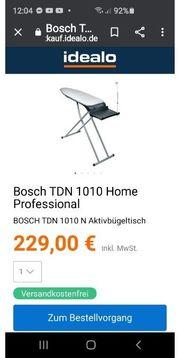 Bosch Aktiv Bügeltisch Home Professional