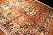 Palast Seidenteppich Kaschmir 435x300cm