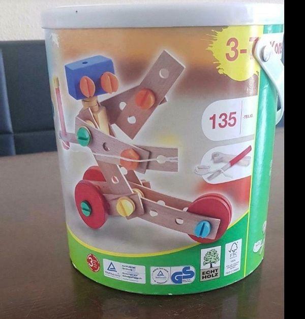 Play tive Bausteine Bauklötze Holzspielzeug