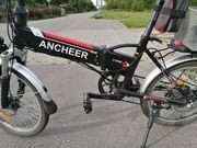 Elektro Faltrad 20 wahlweise als