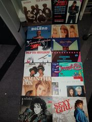 Schallplatten LP s 101 Stück