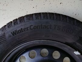 Winter 195 - 295 - 4 Winterräder Continental 195 65