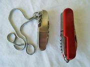 2 Taschenmesser gebraucht Rotes 8