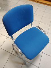 Stuhl gepolstert Stapelstuhl Besucherstuhl Konferenzstuhl