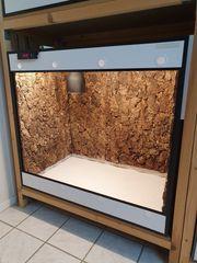 Terrarium aus Forex ca 100x60x90