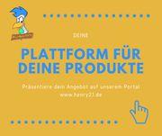 Deine Plattform für deine Produkte