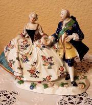 Ludwigsburger Porzellan zugeordnet Königspaar