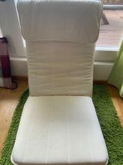 Poang Ikea Sessel Beige