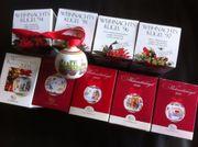 Hutschenreuther Weihnachtskugeln Limitierte Auflage