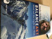 Balanceakt Blind auf den Gipfel
