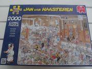 2000 Teile Puzzle Jan Van