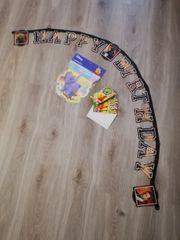 Kindergeburtstags Set mit Einladungskarten und