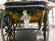 Hochzeitskutsche Original Viktoria Kutsche um