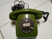 Siemens-Telefon 611-2a 70er Jahre grün
