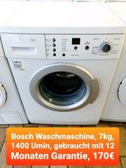 Bosch Waschmaschine 7kg 1400 Umin