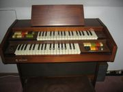 Electronic Orgel VISCOUNT mit Notenheften