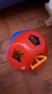 Tupperware steckball blau rot mit