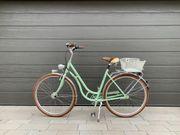 Fahrrad Diamant Topas Retrobike mintgrün