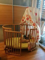 Kinder-Gitterbett Stokke Sleepi Mini Midi