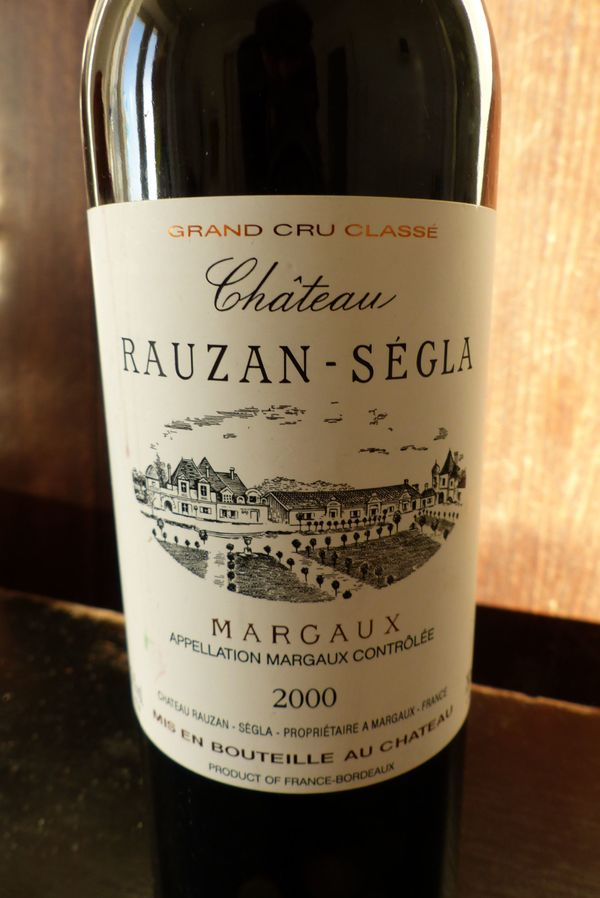hochwertiger Wein Château Rauzan-Ségla Grand