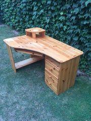 Schreibtisch Holz Kiefer massiv