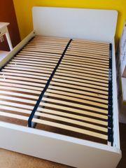 Bett Ikea Askvoll 140x200 Bettgestell