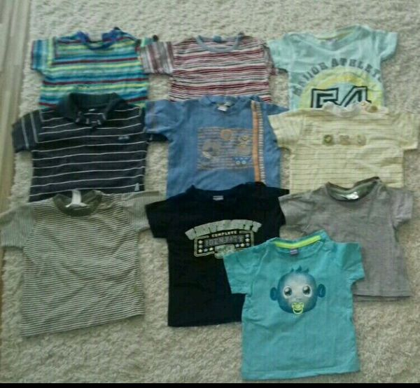Baby - T-shirtpaket Jungs Größe 74