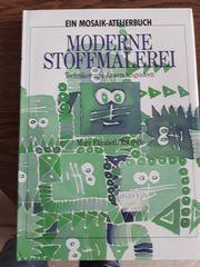 Moderne Stoffmalerei wie neu