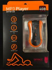 WASSERDICHTES MP3 PLAYER neu MPW720