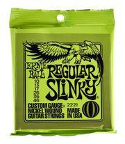 4x Ernie Ball Regular Slinky-Gitarrensaiten